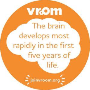 vroom-round-development-sticker