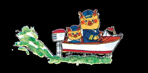 Richard Scarry boat